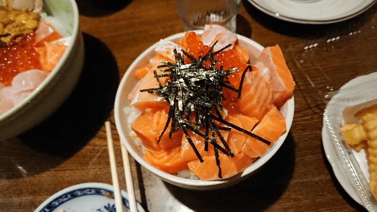 大三島 大漁 サーモン丼