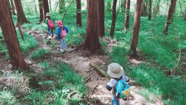 秋キャンプ 子供 遊び お手伝い