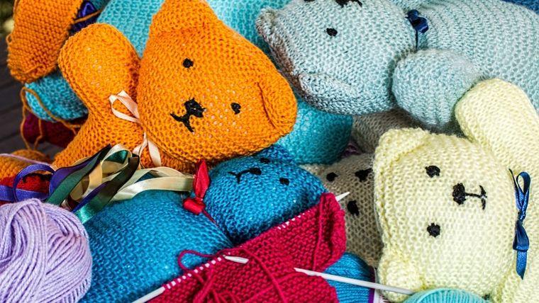 入院中 暇つぶし 編み物